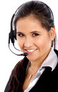 Customer service woman Stock Photography