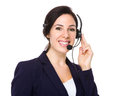 Customer services agent Royalty Free Stock Photo