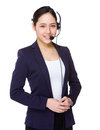 Customer services officer Royalty Free Stock Photo