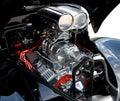 Customized car engine Royalty Free Stock Photo