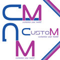 Customized Logo design Stock Photography
