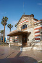 Customs office historic in the city of arica in northern chile Royalty Free Stock Photos