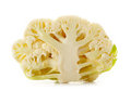 Cut cauliflower Stock Images