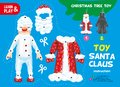 Cut and Glue Paper Christmas Tree Toy Element Royalty Free Stock Photo