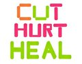Cut-hurt-heal bandages Stock Images