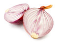 Cut onion Stock Images