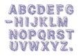 Cut Out Letters Font