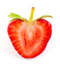 Cut strawberrie Royalty Free Stock Images