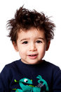 Cute adorable toddler expression Royalty Free Stock Photo