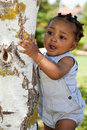 Cute african american baby boy Royalty Free Stock Photography