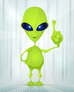 Cute Alien Royalty Free Stock Photos