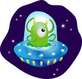 Cute alien Royalty Free Stock Photo