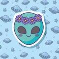 Cute alien design