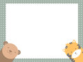 Cute animals vector illustrator and computer design Stock Images