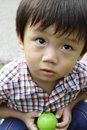 Cute Asian boy Royalty Free Stock Photography