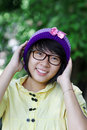 Cute Asian Girl Stock Photography