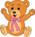 Cute baby bear cartoon Royalty Free Stock Image