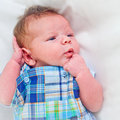 Cute baby boy Stock Photo