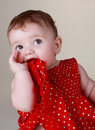 Cute baby girl (6 months) Stock Photography
