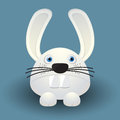 Cute baby rabbit cartoon design Royalty Free Stock Photos