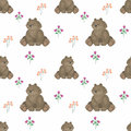Cute bear pattern