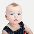 Cute beautiful little boy Royalty Free Stock Images