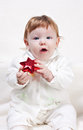Cute beautiful little girl Stock Photo