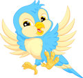 Cute bird cartoon vector illustration of Royalty Free Stock Photography