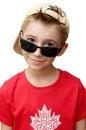 Cute boy in baseball cap Royalty Free Stock Photo