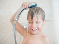 Cute Boy In The Shower