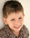 Cute boy smiling Royalty Free Stock Photo