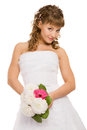 Cute bride Stock Photography