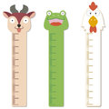 Cute bumper children meter wall vector Royalty Free Stock Photography