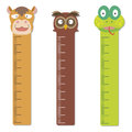 Cute bumper children meter wall vector Stock Photography