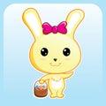 Cute Bunny Royalty Free Stock Photography
