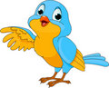 Cute Cartoon Bird Royalty Free Stock Image