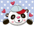 Cute Cartoon Drawing Panda