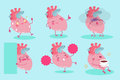 Cute cartoon heart