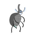 Cute cartoon insect character vector Illustration Royalty Free Stock Photo