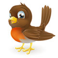 Cute cartoon Robin Illustration Royalty Free Stock Image