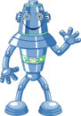 Cute cartoon robot Stock Images