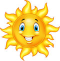 Cute cartoon sun Royalty Free Stock Photo
