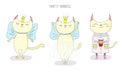 Cute cat princess