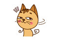 Cute Cat Sticker.