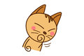 Cute Cat thinking hard.