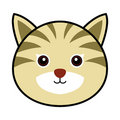 Cute Cat Vector Stock Image