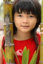 Cute Chinese Child Royalty Free Stock Photography