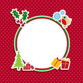 Cute Christmas background Royalty Free Stock Image
