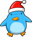 Cute Christmas Holiday Penguin Stock Photography