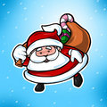 Cute Christmas Santa Claus Royalty Free Stock Photography